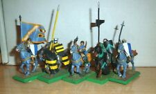 Warhammer Fantasy Painted 5 Bretonnian Questing/ GRAIL Kinghts NICELY PAINTED 1