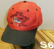 NIXON PIPELINE PROJECT 1999 CIG CSU HAT RED & BLACK SNAPBACK ADJUSTABLE VGC