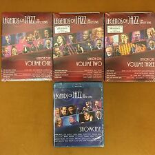 NEW Legends of Jazz with Ramsey Lewis 3 DVD CD sets Entire Season BONUS BluRay