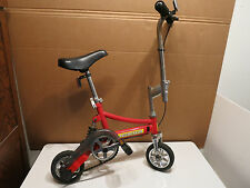 Vintage Authentic RED AGGRESSOR Mini Bike Trick Clown Circus Stunt Mini Bicycle!