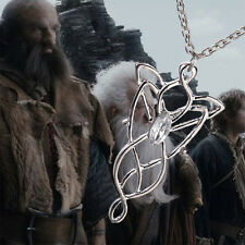 Hot Movie Arwen Evenstar Silver Tone Pendant Necklace Lord Of The Rings Hobbit