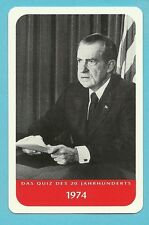 Richard Nixon 1974 Cool Collector Card from Europe President of the United State
