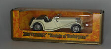 Matchbox Y-1-3-5 1936 Jaguar SS-100 in White in 1:38 scale