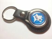 DST ' French Spy Agency'Leather Key Ring Directorate of Territorial Surveillance