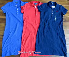 NWT Ralph Lauren Polo Pony Shirt Dress Womens Sport Mesh Tennis Golf Classic