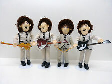 Beatles Dolls Shea Stadium gray nehru suits by Applause US 1989 Extremly Rare