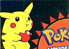 POKEMON Carte TOPPS Francaise PUZZLE METAL HOLO N° P01 of 6 PIKACHU ....