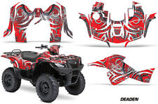 Suzuki Quad 500 AXi AMR Racing Sticker Graphic Kit Wrap Decal ATV 13-15 DEDN RED