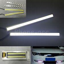 1 Pair Super Bright 17cm Car LED Fog Strip Lamp DRL Daytime Running Light 12V
