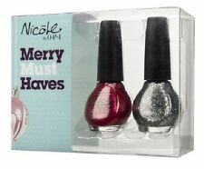 "(10) NICOLE BY OPI ""MERRY MUST HAVES"" NEW / LOT OF (10) PACKAGES - $100.00!!!"