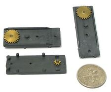 3 Aurora T-Jet Model Motoring SLIM LINE Slot Car PLATE, DRIVEN GEAR & PINION A++