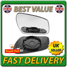 Right Driver Off Side Heated Wing Door Mirror Glass for FORD FOCUS 2004-2007