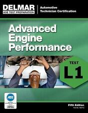 Delmar L1 ASE Automotive Advanced Engine Performance Test Prep Exam Manual Guide