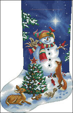 """Christmas Stocking #39"" Cross Stitch Pattern Chart"