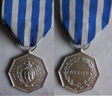 San Marino medaglia al merito in argento L.Gori inc.