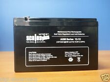 12V 12AH Rechargeable Valve Regulated Sealed Lead Acid Battery 20HR VRLA SLA
