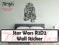 Star Wars R2D2 LifeSize Oversize Wall Vinyl Sticker