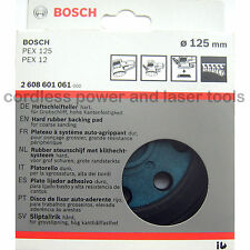 Bosch HARD Sanding Backing Pad Rubber Base Plate for PEX 125 AE-1 2608601 061