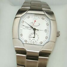 NEW AUTOMATIC MENS VAAN KONRAD LATYMER 21 JEWEL GMT WATCH POWER RESERVE DIAL