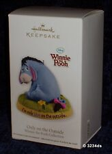 2012 Hallmark ONLY ON THE OUTSIDE Disney's Winnie the Pooh EEYORE Ornament