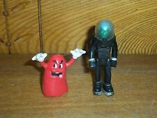 Vintage Toys 1979 Fisher Price Action Adventure Alien & Coleco Blinky Red Ghost