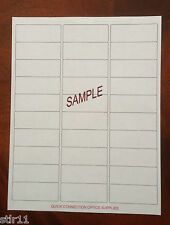 "300 Blank Address Labels 1"" x 2 5/8"" - ( 30 Per Sheet ) Works on any printer"