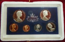 1969 Royal Australia Mint Six Coin Proof Set - in foams