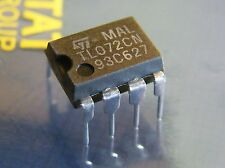 10x TL072CN Dual BIFET Operational Amplifier, ST Microelectronics