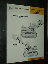 Prospectus IH INTERNATIONAL Tracteur Chargeur 250  MAC CORMICK Brochure TP