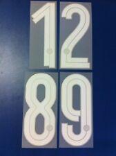inter 2007-2008 numero numeri a scelta x maglia inter nike nuovo nuovi new
