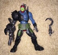 Masters Of The Universe Trapjaw Action Figure 2001 MOTU 200X W/ Accessories