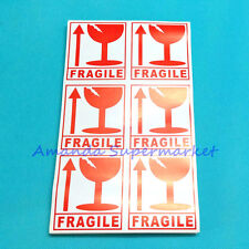 300pcs FRAGILE HANDLE WITH CARE adhesive warning sticker