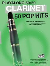Playalong Clarinet 50 Pop Hits Play KATY PERY Clarinet Music Book Download Card