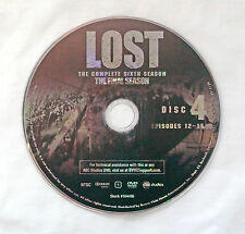 Lost Season 6 (Final) Disc 4 Replacement DVD Disc