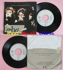 LP 45 7'' A-HA The sun aleays shines on t.v.Driftwood 1985 germany WB cd mc dvd