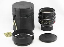 *EXC++* Leica Noctilux-M 50mm f1 1:1/50 11821 version 3 LEICA E60 *late s/n*
