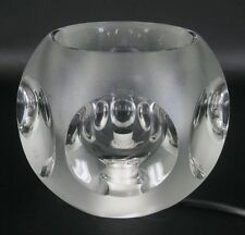 Peill & Putzler Glas Lampe / Tischlampe Glass Table Lamp 1970s Vintage Cool