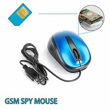 New Mini Mouse Style USB GSM SIM Card Spy Audio Ear Bug Hidden CCTV Surveillance