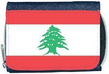 Lebanon Flag Denim Wallet
