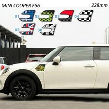 Molduras intermitentes MINI F56 2014 (Cooper, S, One) resin sticker