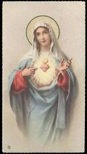 """santino-holy card""""""""ediz. NB*  n.6021 S.CUORE DI MARIA"""