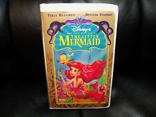 The Little Mermaid (VHS, 1998, Special Edition) EUC