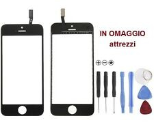 VETRO Originale più touchscreen touch screen per iPhone 5S NERO attrezzi omaggio