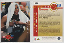 NBA UPPER DECK 1994 COLLECTOR'S CHOICE - Dennis Rodman #202 - Ita/Eng - MINT