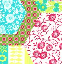 1YD Dance With Me KIMBERLY Cheater Cloth Faux Quilt Blocks J Paganelli JP28 Lime