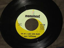 "Ray Stevens ""Unwind/For He's A Jolly Good Fellow"" 45"