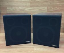 "Pair of Vintage Fisher System Speakers 8 5/8"" x 10 1/4"" x 9 7/8"""