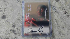 1999-00 Skybox Autographics James Posey On Card Auto