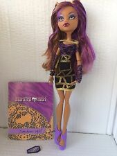 Monster High Doll Ghouls Night Out Clawdeen Wolf