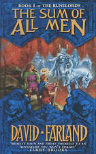 Farland, David The Sum of All Men (Runelords) Very Good Book